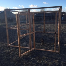 Dog run 8ft x 12ft Chicken Fox Proof Pen