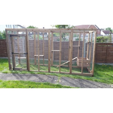 Catio Adventure Play Run 12ft long x 3ft wide x 6ft tall