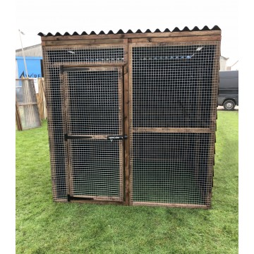 Waterproof Chicken Run 6ft x 6ft 16G Fox Proof Dog Cat Enclosure
