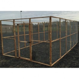 17 Wire Mesh Panels + 1 Door 19G
