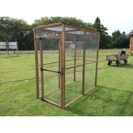 6ft x 3ft animal enclosure chicken and rabbit run