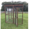 Free Standing Waterproof 16G Outdoor 6ft x 6ft Animal Rabbit Chicken Dog Pen