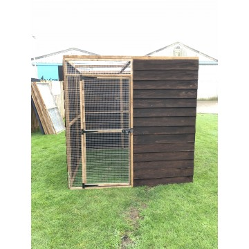 Bird Aviary 6ft x 6ft 19G Chicken Run Budget Enclosure