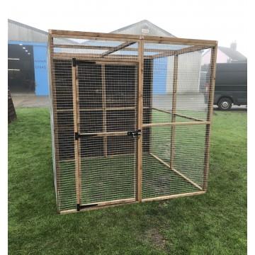 Bird Aviary 6ft x 6ft 19G Chicken Run Budget Enclosure