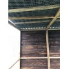 Bird Aviary 6ft x 6ft 19G Chicken Run Budget Waterproof Enclosure