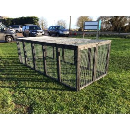 19 Aviary 16G Fox / Dog Proof Rabbit Run