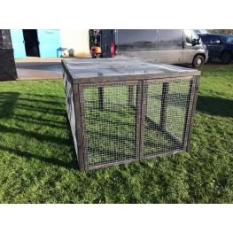 "13 Aviary 16G 1"" Fox / Dog Proof Rabbit Run"