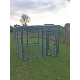12ft x 8ft Blue Run Clear Waterproof Roof