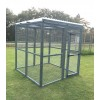 Blue Waterproof 16G Outdoor 6ft x 6ft Animal Rabbit Chicken Dog Pen
