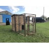 Wooden Dog Run With Sleeping Box 9ft x 4ft