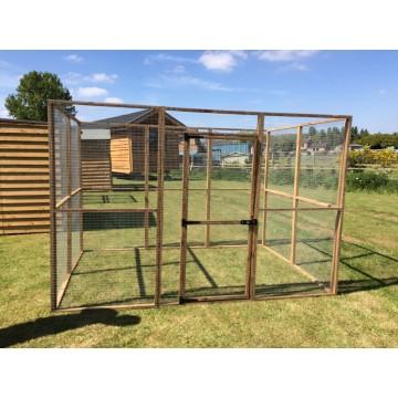 6ft x 9ft 19G Aviary Chicken Rabbit Run