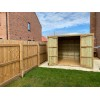 10ft x 8ft Wooden Pent Heavy Duty Shed