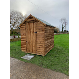 8ft x 6ft Wooden Apex Heavy Duty Shed