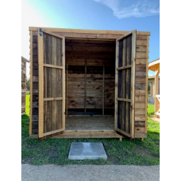 8ft x 6ft Wooden Pent Heavy Duty Shed