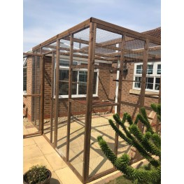Large 2 Sided Catio