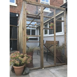 "Two Sided Catio ""L"" Shape"