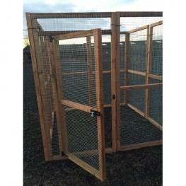 Fox / Dog Safe 6ft x 6ft 16G Rabbit Chicken Run
