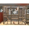 Catio / Cat Lean to 8ft x 6ft x 7.5ft tall shelves and ladders Available