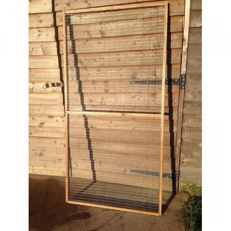 29 Pack of 6FT X 3FT Wire Mesh Panels + FREE DOOR (19G 1/2\