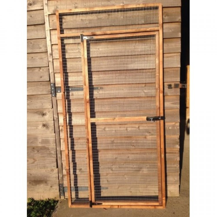 Wire Mesh Door Panel (6FT X 3FT 19G Wire)