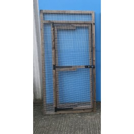 Aviary Door Panel 6ft x 3ft 16G Wire Mesh
