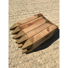 """15 Pack Of Thick (2 INCH) 12"""" (300mm) Wooden Pegs."""