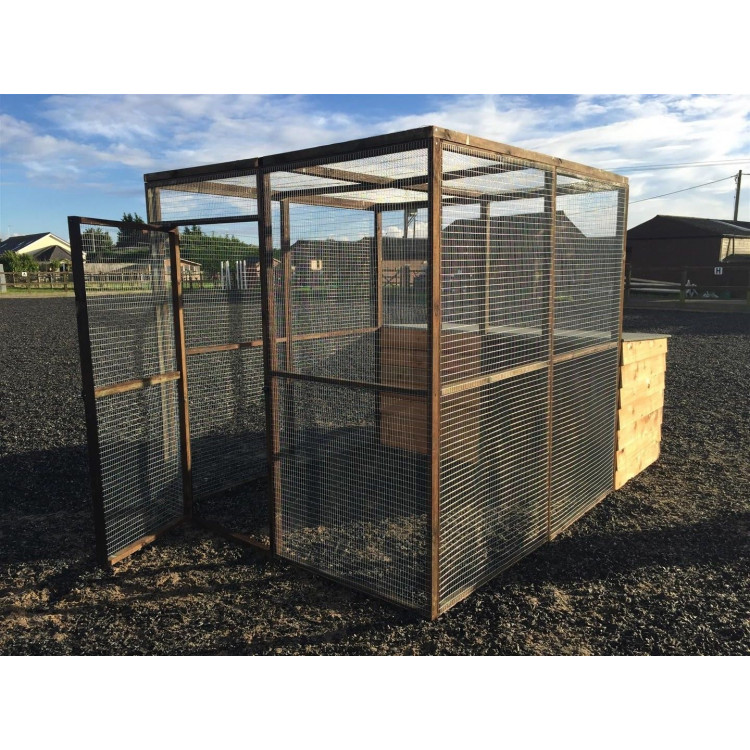 Wire Mesh Panels For Animal Cages | Details About Animal Pen With Shelter Chicken Rabbit Ducks Dog Cat
