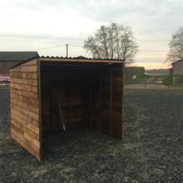 Animal Field shelter.
